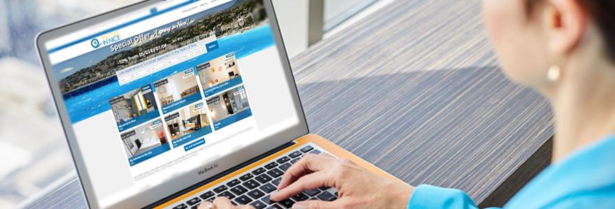 Appartements et maisons de vacances a reserver sur Nice